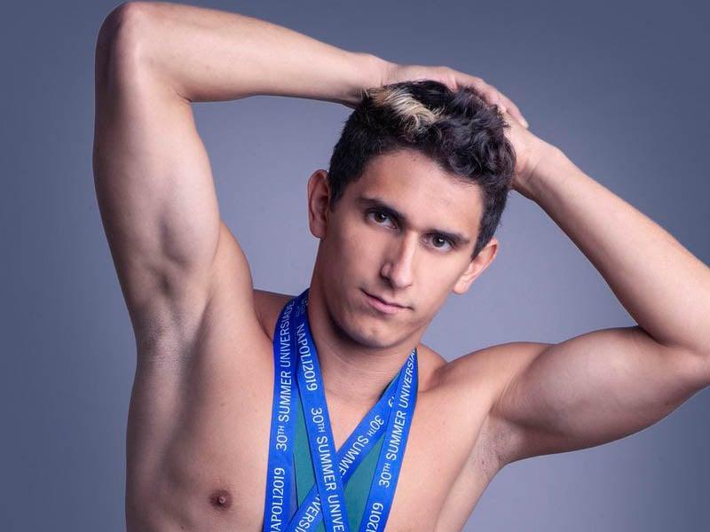 Diego Balleza, clavadista. Atleta mexicano que nos representa en los Juegos Olímpicos Tokio 2020