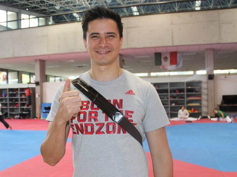 Alfonso Victoria, entrenador Taekwondo. Juegos Olímpicos Tokio 2020