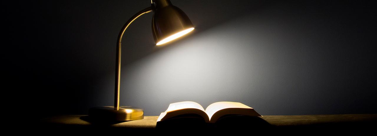 ¿Lees y estudias con buena iluminación?