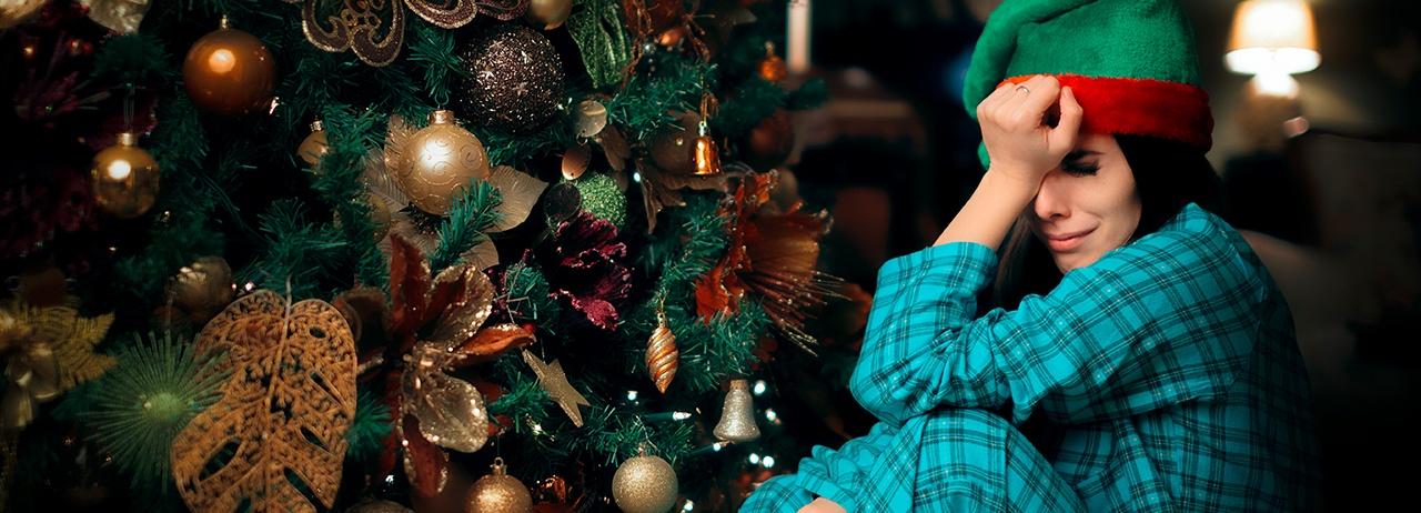 Combate la depresión navideña