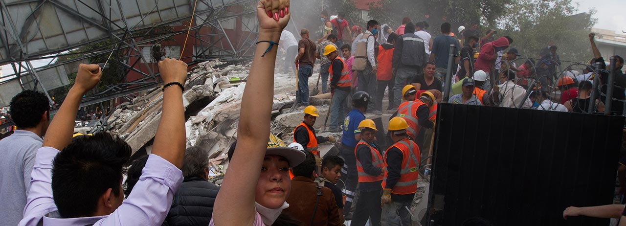 No soltemos a México: la solidaridad que despertó tras el sismo
