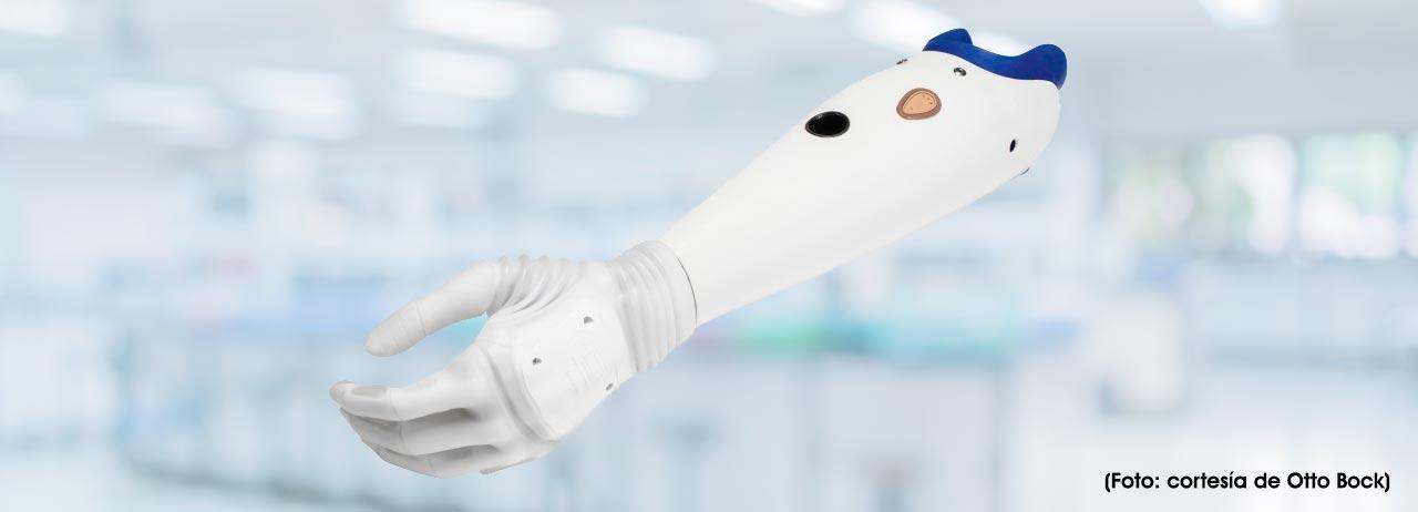 El futuro de las prótesis con tecnología de película de ciencia ficción